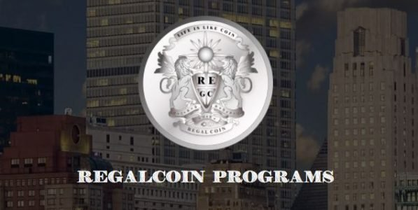 Regalcoin header