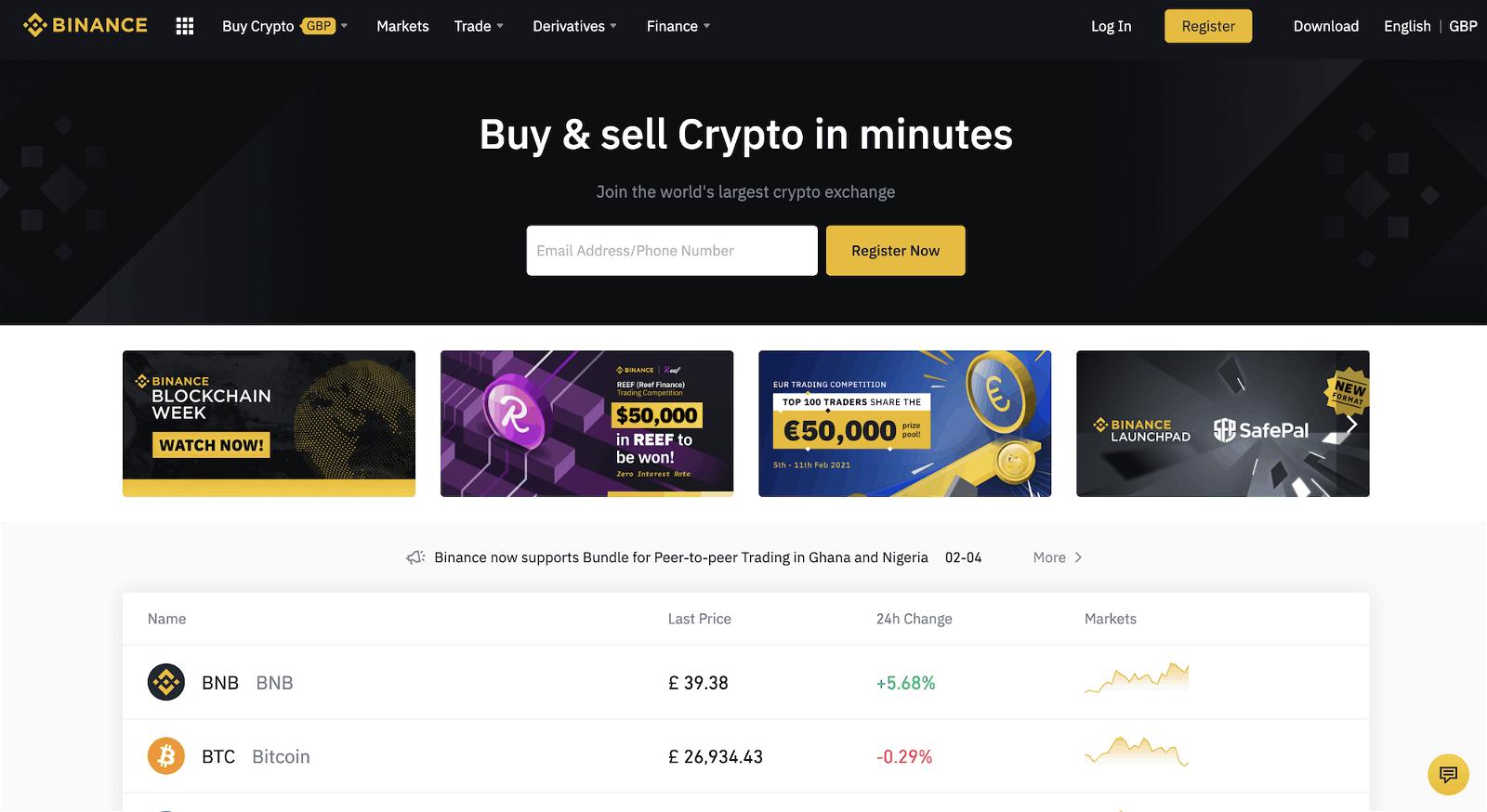 crypto exchange uk
