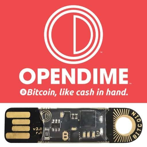 OpenDime promotional header