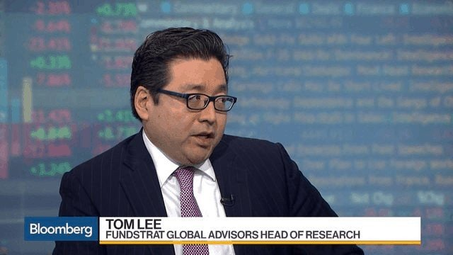 Tom Lee, the eternal bitcoin (BTC) bull