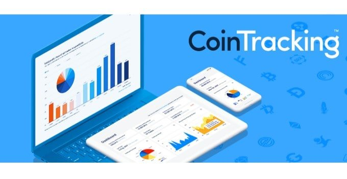 CoinTracking.info promotional header