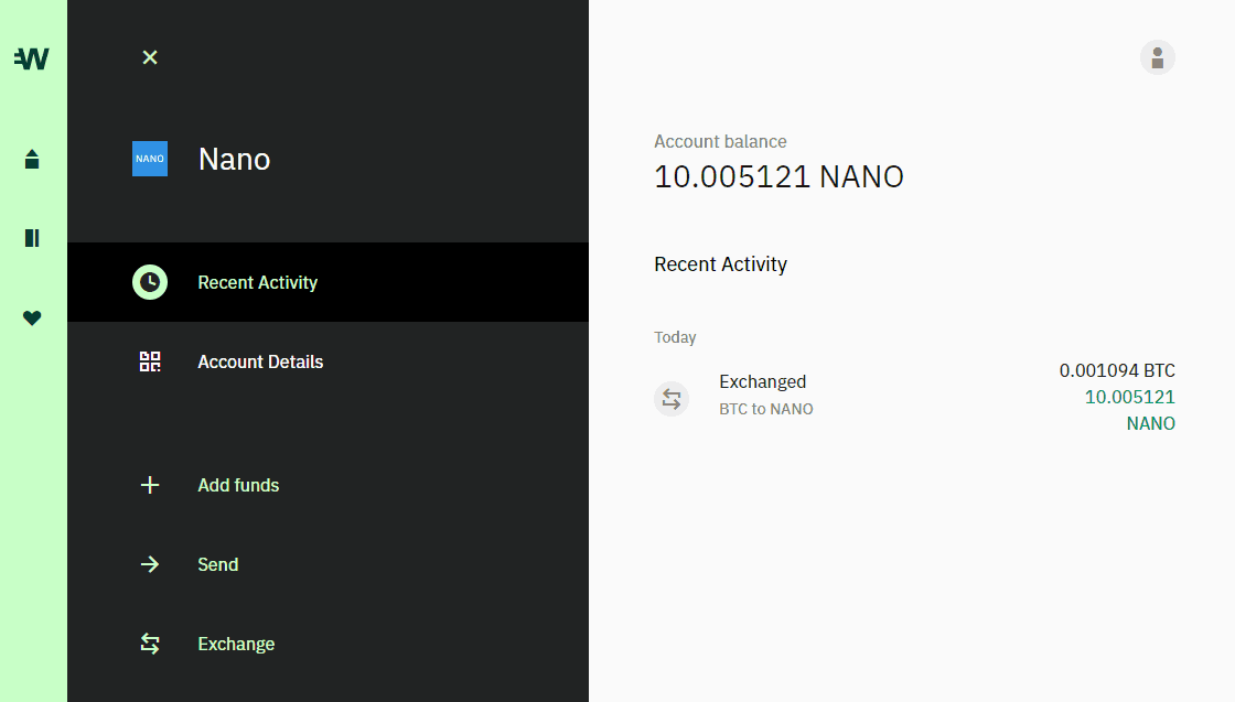 Wirex Review - Nano Wallet Overview