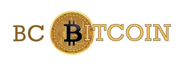 BC Bitcoin logo header (version 2)