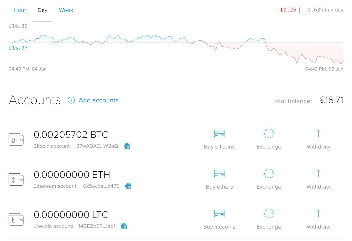 CryptoPay Review - Desktop Interface